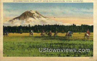 Tacoma Hunt Club - Washington WA Postcard