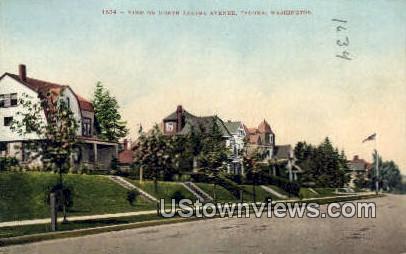 North Vakima Ave - Tacoma, Washington WA Postcard