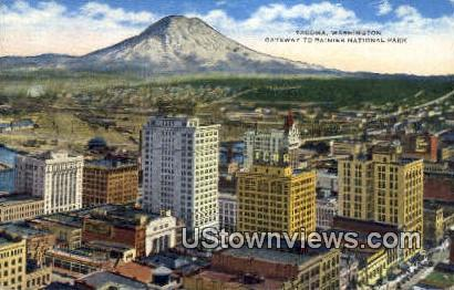 Rainier National Park - Tacoma, Washington WA Postcard