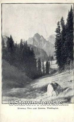 Mountain - Tacoma, Washington WA Postcard