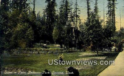 Point Defiance Park - Tacoma, Washington WA Postcard