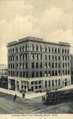 American National Bank - Everett, Washington WA Postcard