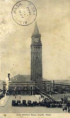 Northern Depot - Seattle, Washington WA Postcard