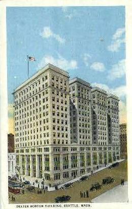 Dexter Horton Building - Seattle, Washington WA Postcard