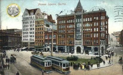 Seattle, Washington, WA Postcard