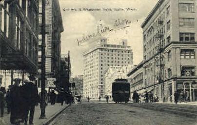 2nd ave - Seattle, Washington WA Postcard
