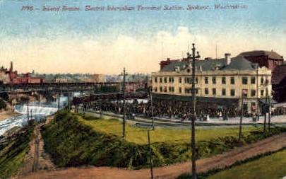 Inland Empire - Spokane, Washington WA Postcard