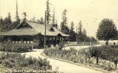 Depot Defiance Park - Tacoma, Washington WA Postcard