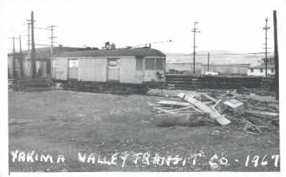 Repro- Yakima Valley Transit - Washington WA Postcard