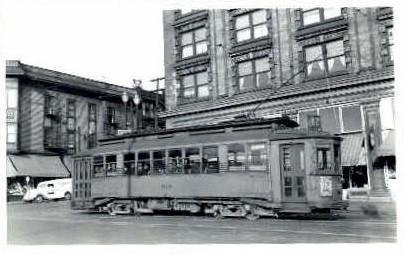 # 514 Electric Train - Seattle, Washington WA Postcard