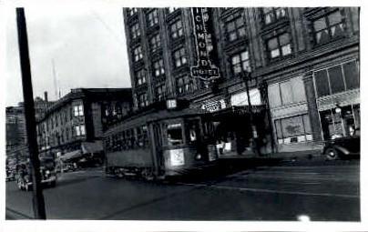 # 513 Electric Train - Seattle, Washington WA Postcard