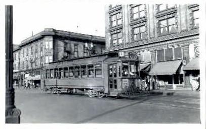 # 336 Electric Train - Seattle, Washington WA Postcard