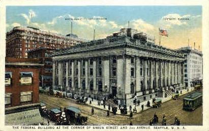 Federal Building - Seattle, Washington WA Postcard