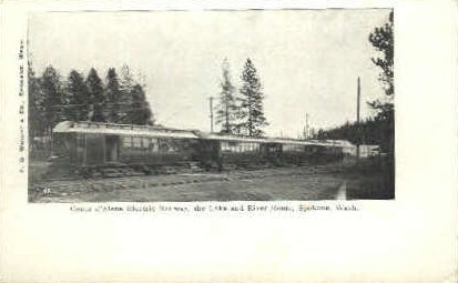 Cobur D'Alene - Spokane, Washington WA Postcard