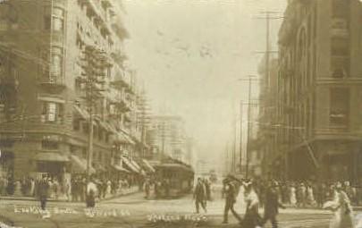 Howard Street Real Photo - Spokane, Washington WA Postcard