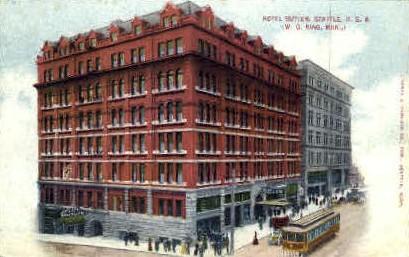 Butler Hotel - Seattle, Washington WA Postcard