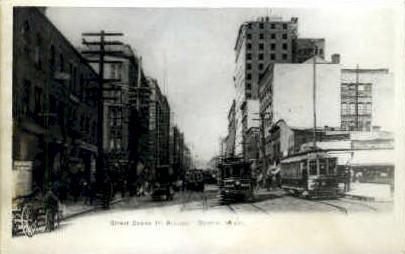 Reproduction - First Avenue - Seattle, Washington WA Postcard