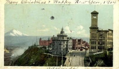 Gateway - Tacoma, Washington WA Postcard