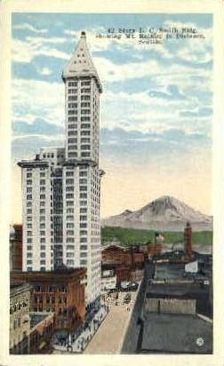 Smith Building - Seattle, Washington WA Postcard