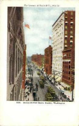 Lowman and Hartford Company - Seattle, Washington WA Postcard