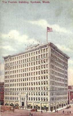 Paulsen Building - Spokane, Washington WA Postcard