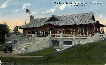 Electric Railway Station - Tacoma, Washington WA Postcard