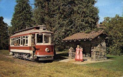 Trolleys - Tacoma, Washington WA Postcard