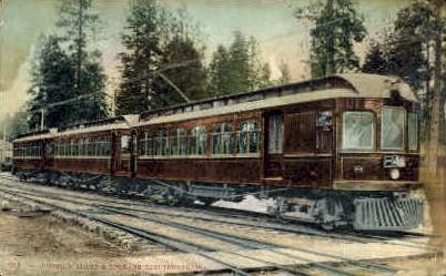 Cobur D'Alene - Spokane, Washington WA Postcard