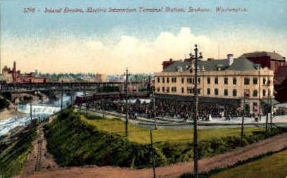 Indland Empire - Spokane, Washington WA Postcard