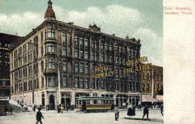 Donnelly Hotel - Tacoma, Washington WA Postcard