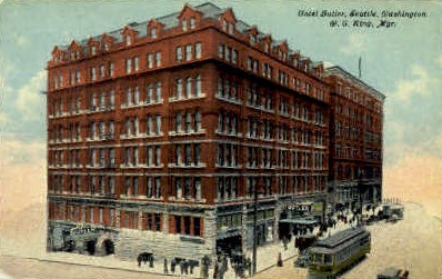 Hotel Butler - Seattle, Washington WA Postcard
