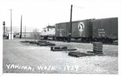 Yakima Valley Transit - Washington WA Postcard