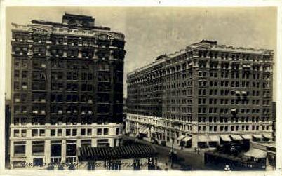 Fourth Avenue - Seattle, Washington WA Postcard