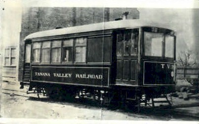 Repro - Tanana Valley Railroad - Misc, Washington WA Postcard