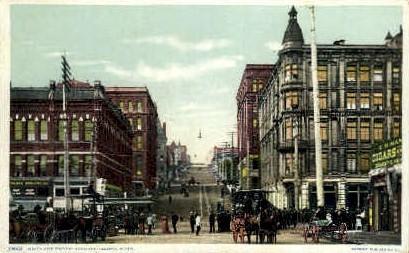 Ninth Street - Tacoma, Washington WA Postcard