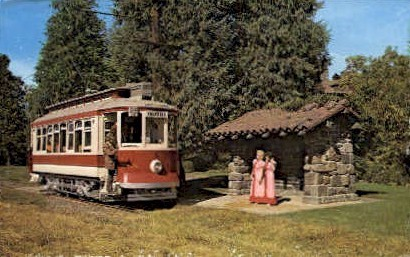 Trolleys - Yakima, Washington WA Postcard