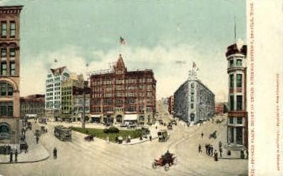 Pioneer Place - Seattle, Washington WA Postcard