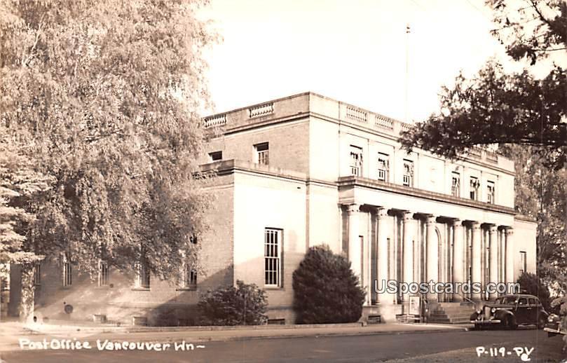 Post Office - Vacouver, Washington WA Postcard