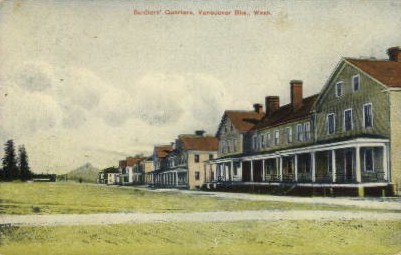 Soldiers' Quarters - Vancouver, Washington WA Postcard