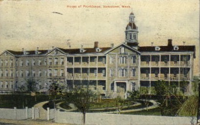 House of Providence - Vancouver, Washington WA Postcard