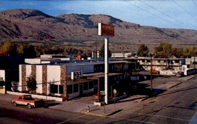 Camaray Motel - Vancouver, Washington WA Postcard