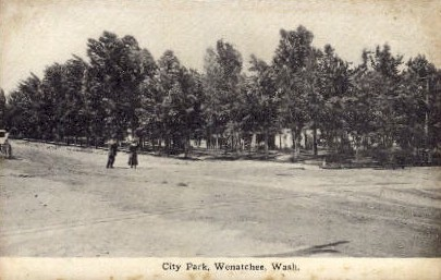 City Park - Wenatchee, Washington WA Postcard