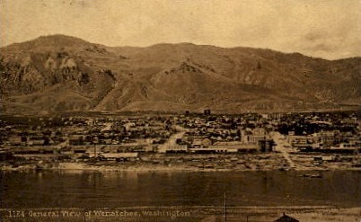 City View - Wenatchee, Washington WA Postcard