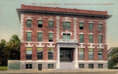 Y.M.C.A. Building - Walla Walla, Washington WA Postcard