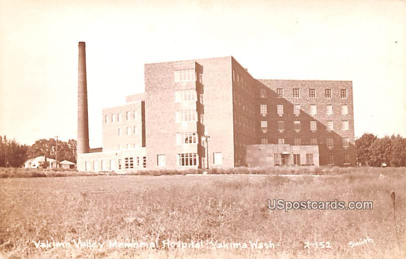 Yakima Valley Memorial Hospital - Washington WA Postcard