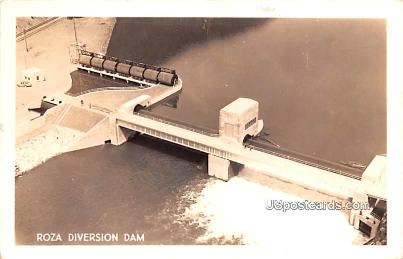 Roza Diversion Dam - Yakima, Washington WA Postcard