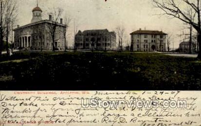University Buildings - Appleton, Wisconsin WI Postcard