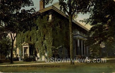 St. Lawrence University - Appleton, Wisconsin WI Postcard