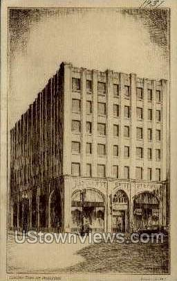 Irving Zuelke Building - Appleton, Wisconsin WI Postcard