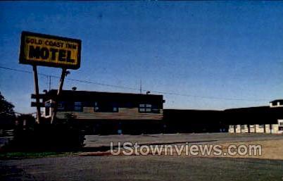Gold Coast Inn Motel - Antigo, Wisconsin WI Postcard